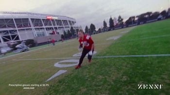 Zenni Optical TV Spot, 'In the Zone' Featuring George Kittle - Thumbnail 8