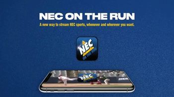 Northeast Conference NEC on the Run App TV Spot, 'Streaming' - Thumbnail 1