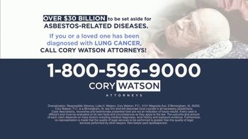 Cory Watson Law TV Spot, 'Men Diagnosed With Lung Cancer: Asbestos' - Thumbnail 8