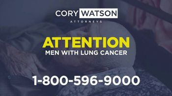 Cory Watson Law TV Spot, 'Men Diagnosed With Lung Cancer: Asbestos'
