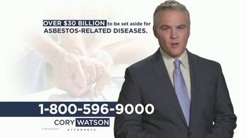 Cory Watson Law TV Spot, 'Men Diagnosed With Lung Cancer: Asbestos' - Thumbnail 7
