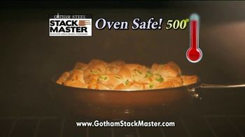 Gotham Steel Stack Master TV Spot, 'Cookware Disaster' - Thumbnail 4