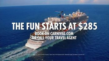 Carnival TV Spot, 'Birthday: Fun Genes' Song by Andrea Litkei, Ervin Litkei - Thumbnail 10