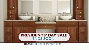 The RTA Store Presidents Day Sale TV Spot, 'Ends Soon'