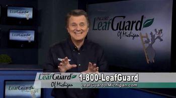 LeafGuard of Michigan Winter Half Off Sale TV Spot, 'Less Maintenance'