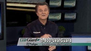LeafGuard of Michigan Winter Half Off Sale TV Spot, 'Less Maintenance' - Thumbnail 9