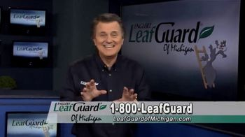 LeafGuard of Michigan Winter Half Off Sale TV Spot, 'Less Maintenance'