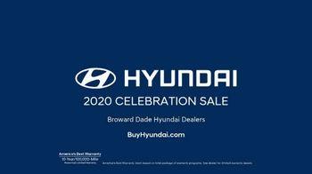 Hyundai Celebration Sale TV Spot, 'Calls for a Celebration' [T2] - Thumbnail 6