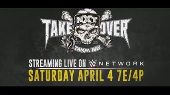 WWE Network TV Spot, '2020 NXT TakeOver: Tampa Bay' - Thumbnail 9