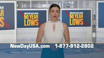 NewDay USA VA Streamline Refi TV Spot, '50 Year Lows: History Making News' - Thumbnail 2
