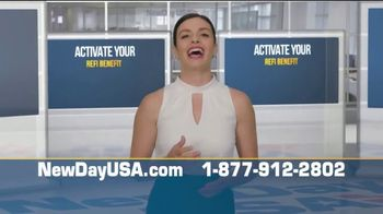 NewDay USA VA Streamline Refi TV Spot, '50 Year Lows: History Making News' - Thumbnail 7