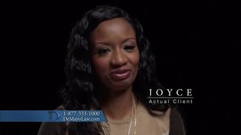Law Offices of Michael A. DeMayo TV Spot, 'Actual Clients'