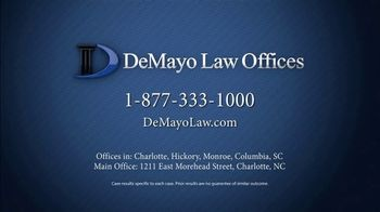 Law Offices of Michael A. DeMayo TV Spot, 'Actual Clients' - Thumbnail 7