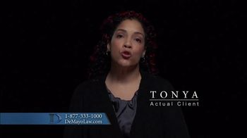 Law Offices of Michael A. DeMayo TV Spot, 'Actual Clients' - Thumbnail 2