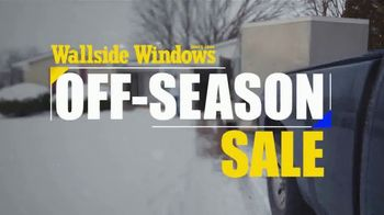 Wallside Windows Off-Season Sale TV Spot, 'Your First Choice'