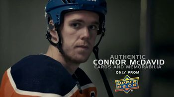 Upper Deck Store TV Spot, 'The Real Thing' Featuring Connor McDavid - Thumbnail 6