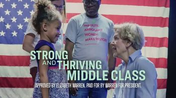 Warren for President TV Spot, 'Elizabeth Understands' - Thumbnail 9