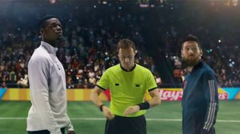 Lay's TV Spot, 'UEFA Champions League: Wonderful Time' Featuring Lionel Messi, Paul Pogba