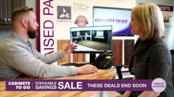Cabinets To Go Stackable Savings Sale TV Spot, 'Get More Kitchen' - Thumbnail 8
