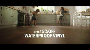 Lumber Liquidators TV Spot, 'Transform Your Home: Bellawood and Vinyl' Song by Electric Banana - Thumbnail 8