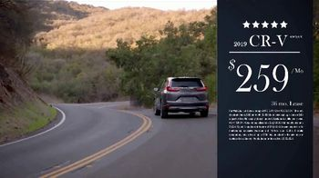 Honda Presidents Day Sales Event TV Spot, 'Commanding' [T2] - 35 commercial airings
