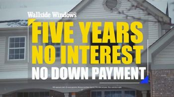 Wallside Windows Off-Season Sale TV Spot, 'Half Off and No Interest' - Thumbnail 4
