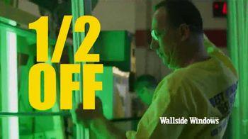 Wallside Windows Off-Season Sale TV Spot, 'Half Off and No Interest' - Thumbnail 7
