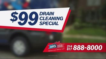 ARS Rescue Rooter $99 Drain Cleaning Special TV Spot, 'Clogged Drain' - Thumbnail 5