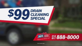ARS Rescue Rooter $99 Drain Cleaning Special TV Spot, 'Clogged Drain' - Thumbnail 6