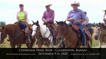 Best of America by Horseback TV Spot, 'Chisholm Trail' - Thumbnail 10