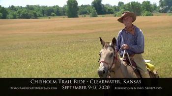 Best of America by Horseback TV Spot, 'Chisholm Trail'