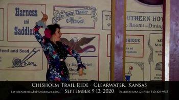 Best of America by Horseback TV Spot, 'Chisholm Trail' - Thumbnail 7