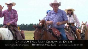 Best of America by Horseback TV Spot, 'Chisholm Trail' - Thumbnail 9