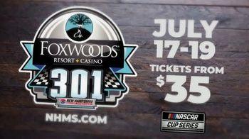 New Hampshire Motor Speedway TV Spot, '2020 Foxwoods Resort Casino 301'