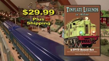 Tinplate Legends in Action TV Spot, 'A Complete History'