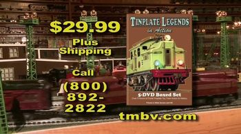 Tinplate Legends in Action TV Spot, 'A Complete History' - Thumbnail 10