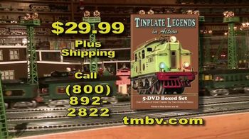 Tinplate Legends in Action TV Spot, 'A Complete History' - Thumbnail 9