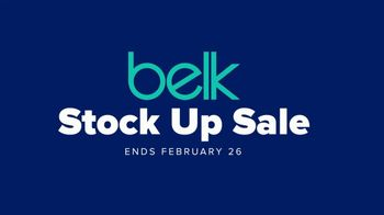 Belk Stock Up Sale TV Spot, 'Sheets and Kid's Apparel'