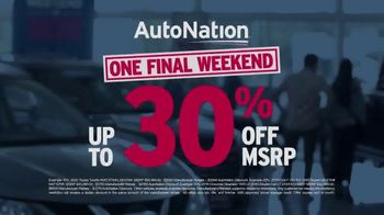 AutoNation Weekend of Wow TV Spot, 'One Final Weekend' - Thumbnail 4