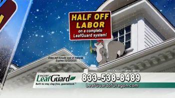 LeafGuard of Oregon Winter Half Off Sale TV Spot, 'Big Mouth' - Thumbnail 6