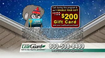 LeafGuard of Oregon Winter Half Off Sale TV Spot, 'Big Mouth'