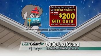 LeafGuard of Michigan Winter Half Off Sale TV Spot, 'Don't Deal With Old Gutters' - Thumbnail 6
