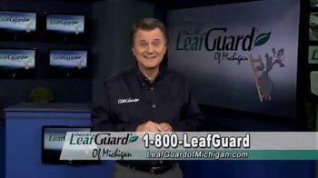 LeafGuard of Michigan Winter Half Off Sale TV Spot, 'Don't Deal With Old Gutters' - Thumbnail 1