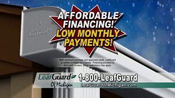 LeafGuard of Michigan Winter Half Off Sale TV Spot, 'Don't Deal With Old Gutters' - Thumbnail 5