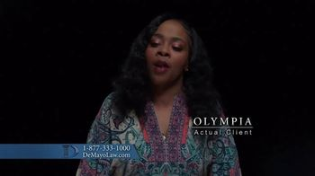 Law Offices of Michael A. DeMayo TV Spot, 'Olympia' - Thumbnail 3