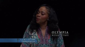 Law Offices of Michael A. DeMayo TV Spot, 'Olympia' - Thumbnail 4