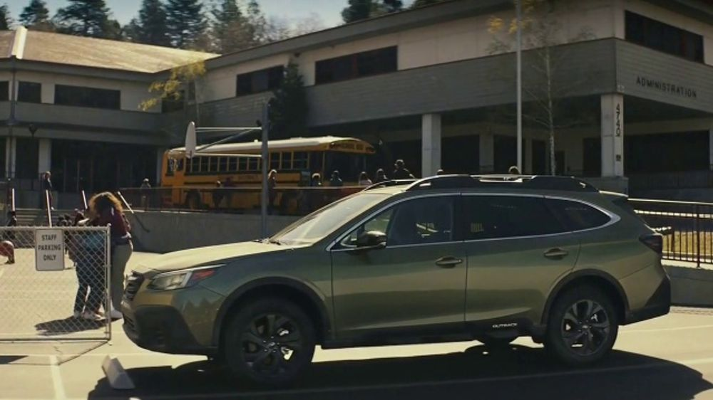 2020 Subaru Outback TV Commercial, 'Easy Commute' [T1]