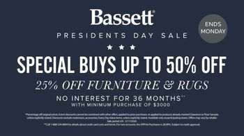 Bassett Presidents Day Sale TV Spot, 'Special Buys' - Thumbnail 6