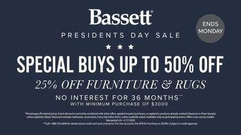 Bassett Presidents Day Sale TV Spot, 'Special Buys' - Thumbnail 5