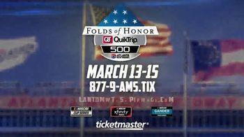 Atlanta Motor Speedway TV Spot, '2020 Folds of Honor QuikTrip 500' - Thumbnail 10